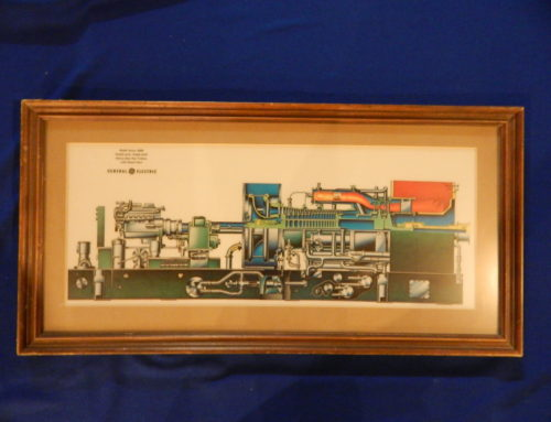 """General Electric Model Series 5600"" framed print"