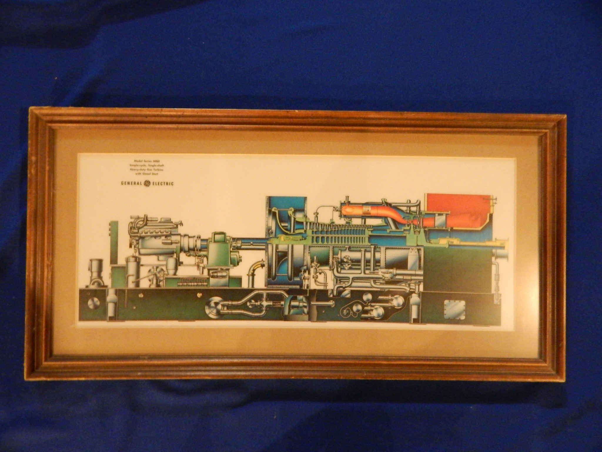 General Electric Model Series 5600 framed print