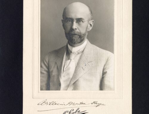 Autographed Photo – William Morton Payne, American Literary Critic