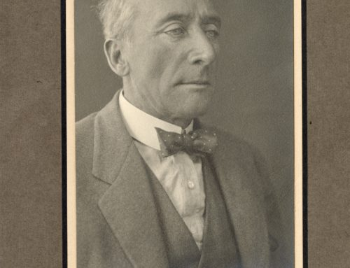 Autographed Photo – Algernon Blackwood, English Novelist