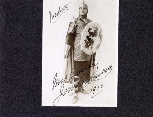 Autographed Photo – James Hackett, Actor