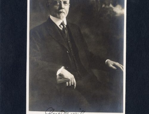 Autographed Photo – George P. Merrill, American Geologist