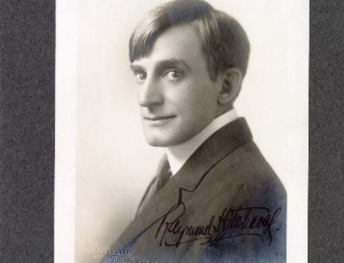 Autographed Photo – Raymond Hitchcock, American Actor in Comic Roles in Musical Comedies
