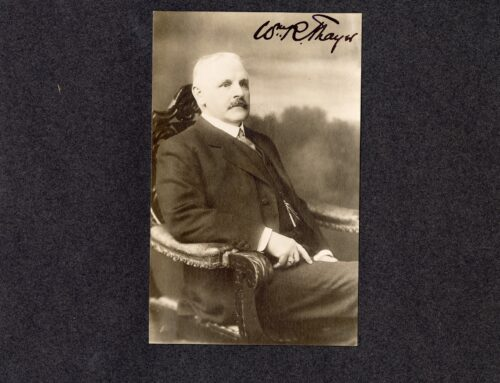 Autographed Photo – William R. Thayer, American Author
