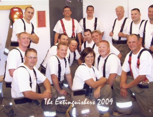 "Photo – ""The Extinguishers"" New Ulm FD Firemen's Dance 9/12/09"