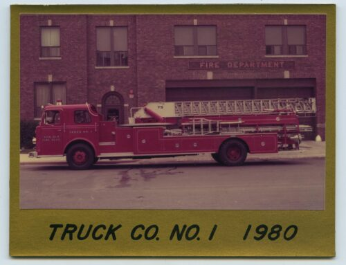Photograph – New Ulm Fire Department Truck