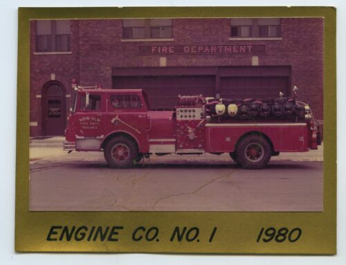 Photograph- New Ulm  Fire Department Truck